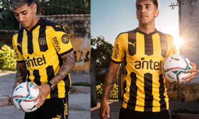 Peñarol 2021 PUMA Home Football Kit, Soccer Jersey, Shirt, Camiseta de Futbol
