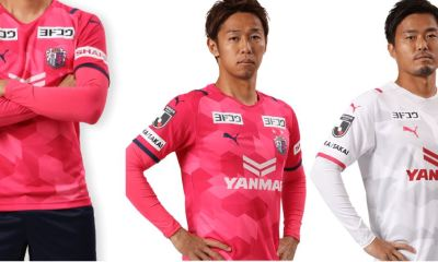 Cerezo Osaka 2021 PUMA Home and Away Football Kit, Soccer Jersey, Shirt