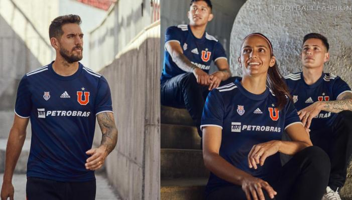 Club Universidad de Chile 2021 adidas Home Football Kit, Soccer Jersey, Shirt, Camiseta de Futbol