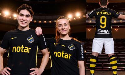 AIK Fotboll 2020 Nike Home Soccer Jersey, Shirt, Kit, Matchtröjan