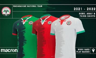 Madagascar 2021 2022 Macron Home, Away and Third Football Kit, Soccer Jersey, Shirt, Maillot