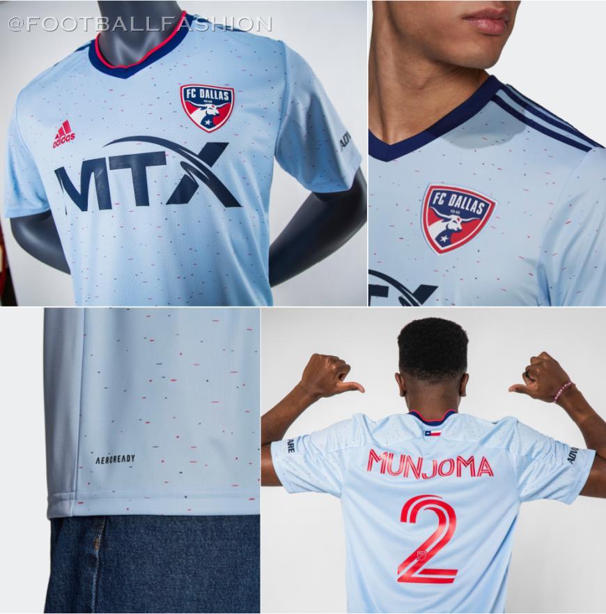 FC Dallas 2021 adidas Away Jersey - FOOTBALL FASHION