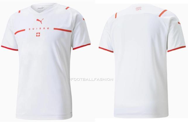Switzerland 2021 2022 PUMA Away Football Kit, 2021-22 Soccer Jersey, 2021/22 Shirt, Maillot Suisse, Trikot, Maglia, Gara