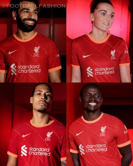 Liverpool FC 2021 2022 Nike Home Football Kit, 2021-22 Soccer Jersey, 2021/22 Shirt, Camiseta, Camisa, Maillot, 21/22 Trikot