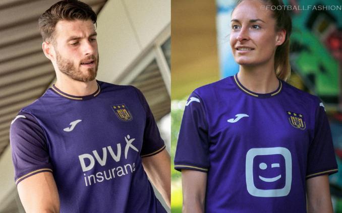 RSC Anderlecht 2021 2022 Joma Home Football Kit, 2021/22 Soccer Jersey, 2021-22 Shirt, Maillot, Tenue