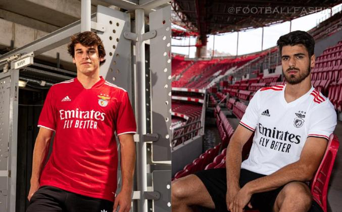 SL Benfica 2021 2022 adidas Home and Away Football Kit, 2021/22 Soccer Jersey, 2021-22 Shirt, Camisa 21-22, Camisola 21/22