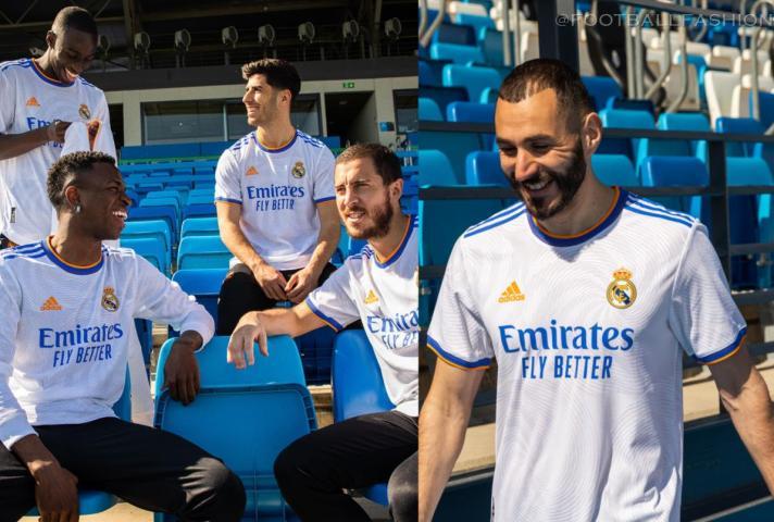 Real Madrid 2021/22 adidas White Home Football Kit, 2021-22 Soccer Jersey, 2021/22 Shirt, Camiseta de Futbol 21/22, , Camisa 21/22, Trikot, Maillot, Dres