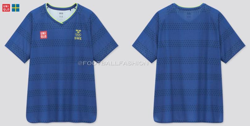 Sweden Tokyo Olympics 2020 2021 Uniqlo Football Kit, Soccer Jersey, Shirt, Matchtröja