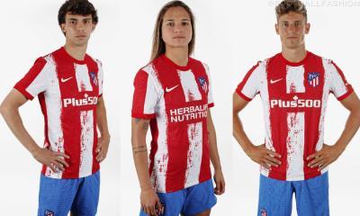 Atlético Madrid 2021 2022 Nike Home Football Kit, 2021-22 Shirt, 2021/22 Soccer Jersey, Camiseta de Futbol 21-22