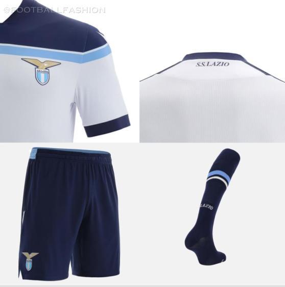 SS Lazio 2021 2022 Macron White Away Football Kit, 2021-22 Shirt, 2021/22 Soccer Jersey, Maglia 21-22, Gara 21/22