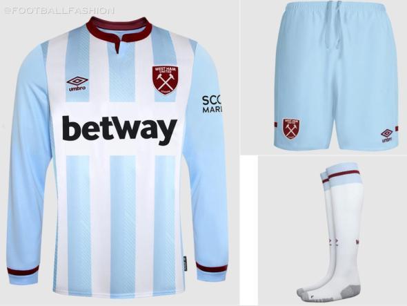 West Ham 2021 2022 Umbro Away Football Kit, 2021-22 Soccer Jersey, 2021/22 Shirt, Camiseta 21-22, Maillot 21/22