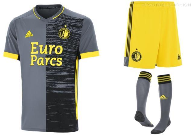 Feyenoord Rotterdam 2021 2022 adidas Away Football Kit, 2021-22 Soccer Jersey, 2021/22 Shirt, Tenue, Uitshirt