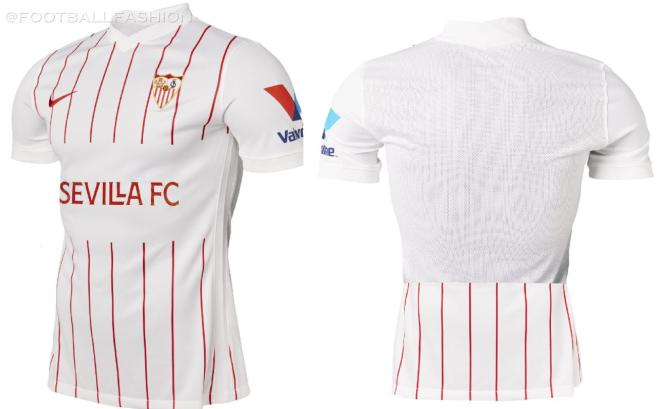 Sevilla FC 2021 2022 Nike Home, Away and Third Football Kit, 2021-22 Soccer Jersey, 2021/22 Shirt, Camiseta de Futbol 21-22
