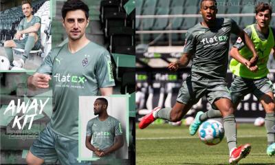 Borussia Mönchengladbach 2021 2022 PUMA Away Football Kit, Soccer Jersey, 2021-2022 Shirt, 2021/22 Trikot