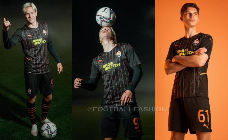 FC Shakhtar Donetsk 2021 2022 PUMA Home and Away Football Kit, 2021-22 Shirt, 2021/22 Soccer Jersey, Camisa 21-22