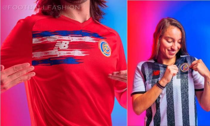 Costa Rica 2021 2022 New Balance 2021-22 Soccer Jersey, 2021/22 Shirt, 21-22 Football Kit, Camiseta de Futbol 21/22, Copa Mundial