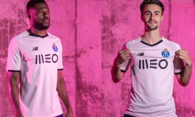 FC Porto 2021 2022 New Balance Pink Third Football Kit, 2021-22 Soccer Jersey, 2021/22 Shirt, Camisa, Camisola 21/22