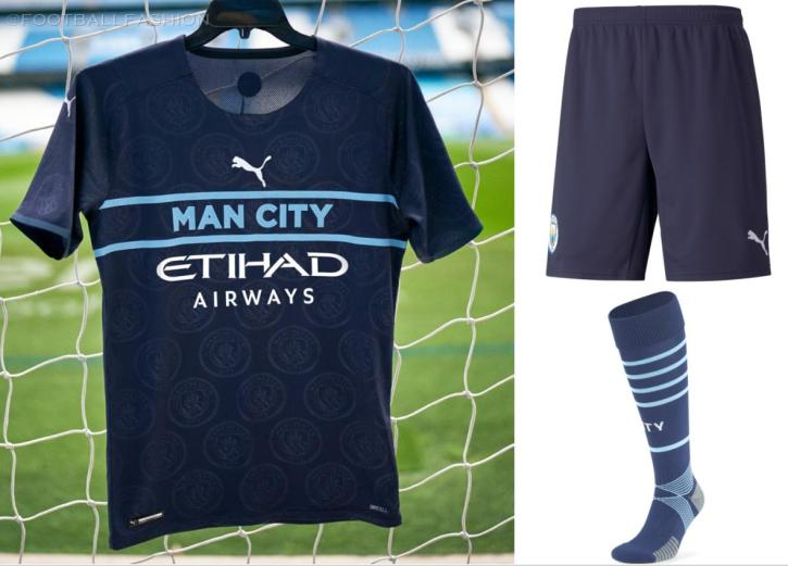 Manchester City FC 2021 2022 PUMA Third Football Kit, 2021-22 Shirt, 2021/22 Soccer Jersey, Maillot 21-22, Camiseta 21/22, Camisa, Trikot, Tenue