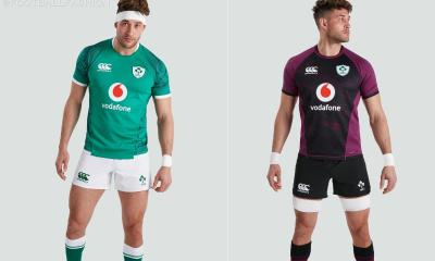 Ireland Rugby 2021 2022 Canterbury Home and Away Kit, 2021-22 Shirt, 2021/22 Jersey