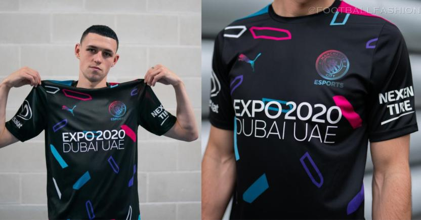 Manchester City FC 2021 2022 PUMA eSports Football Kit, 2021-22 Shirt, 2021/22 Soccer Jersey, Maillot 21-22, Camiseta 21/22, Camisa, Trikot, Tenue
