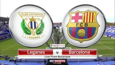 Full match: Leganés vs Barcelona