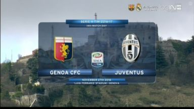 Full match: Genoa vs Juventus