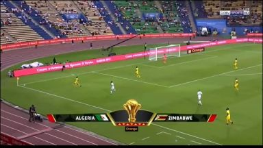 Full Match: Algeria vs Zimbabwe