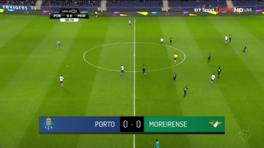 Full Match: Porto vs Moreirense