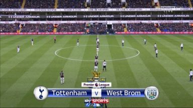Full match: Tottenham Hotspur vs West Bromwich Albion