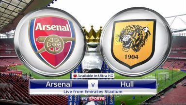 Full match: Arsenal vs Hull City