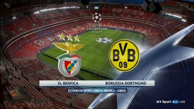 Full match: Benfica vs Borussia Dortmund