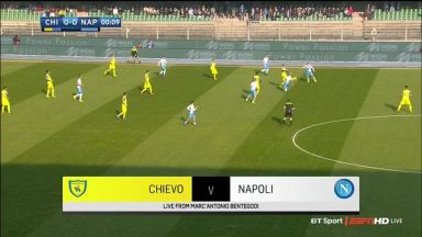 Full match: Chievo vs Napoli
