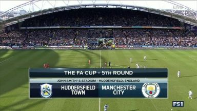 Full match: Huddersfield Town vs Manchester City