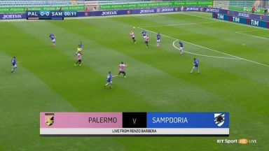 Full match: Palermo vs Sampdoria