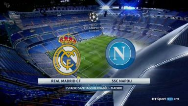 Full match: Real Madrid vs Napoli