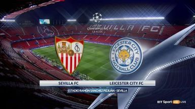 Full match: Sevilla vs Leicester City