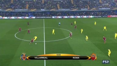 Full match: Villarreal vs Roma