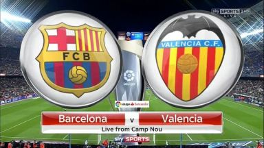 Full match: Barcelona vs Valencia