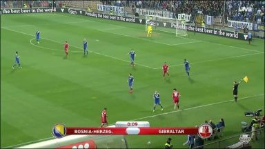 Full match: Bosnia-Herzegovina vs Gibraltar