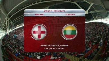Full match: England vs Lithuania