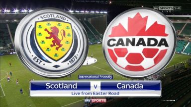 Full match: Scotland vs Canada