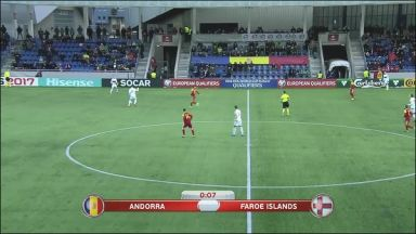Full match: Andorra vs Faroe Islands