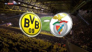 Full match: Borussia Dortmund vs Benfica