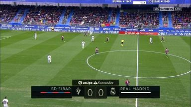 Full match: Eibar vs Real Madrid