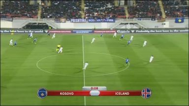 Full match: Kosovo vs Iceland