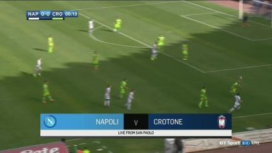 Full match: Napoli vs Crotone