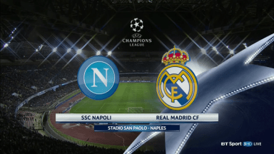 Full match: Napoli vs Real Madrid
