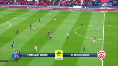 Full match: PSG vs Nancy
