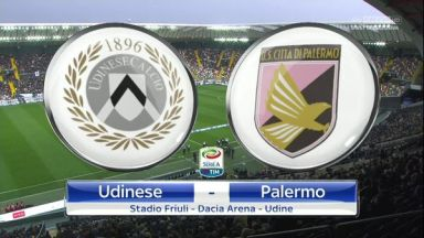 Full match: Udinese vs Palermo