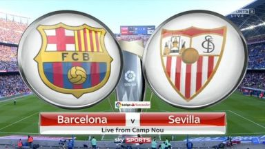 Full match: Barcelona vs Sevilla
